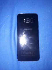 Galaxy S8 super Zustand schwarz