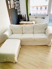 Ikea Ektorp 3er Sofa Hocker