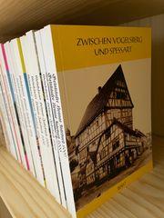 19 Bände Zwischen Vogelsberg und