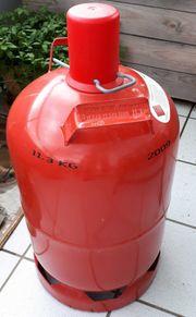 Leere 11 kg Propangasflasche