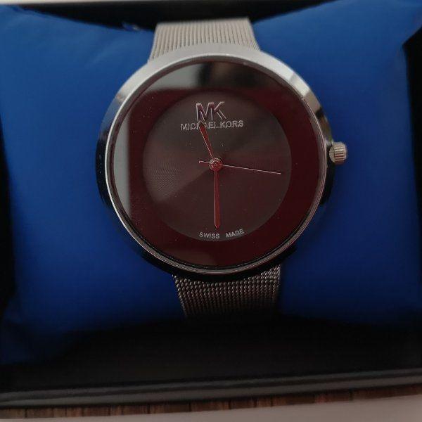 Damen Armbanduhr Silber Imitation