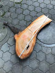 XXL Holzstück DIY Kirschbaum Holz