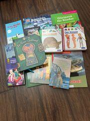 verschiedene Arten von Kinder Jugendbücher