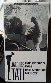 VHS-Kassetten Jaques Tati