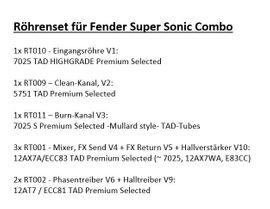 Gitarren/-zubehör - Fender Super Sonic 60 Röhrencombo