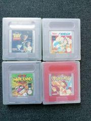4 Gameboy Spiele