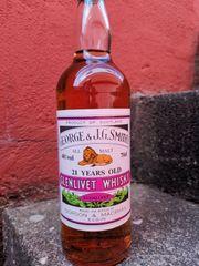 Whisky glenlivet 21y alte abfüllung
