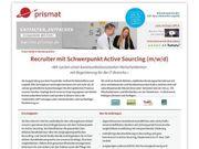 Recruiter mit Schwerpunkt Active Sourcing
