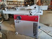 Hammer Kombi-Maschine C3-31 Abrichte Dickte