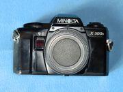 Verkaufe Minolta x300 sund Objektive