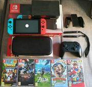 Verkaufe hier eine Nintendo Switch