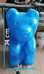 Große Lampe Bär blau Big