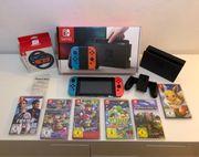 Nintendo Switch 6 Spiele OVP