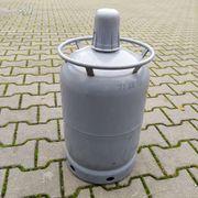 Finnische 11kg-Gasflasche Stahl VOLL passt