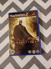 Playstation 2 Batman Begins Spiele