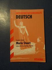 Interpretationshilfe Deutsch Maria Stuart von