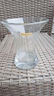 Moderne mundgeblasene Glasvase von Formano