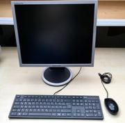 Set aus Tastatur Maus und
