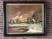 Zu verkaufen schönes gemälde Winterlandschaft