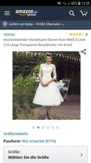 yasiou Hochzeitskleid Standesamt