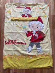 Sandmännchen Kinderbettwäsche incl 1 Spannbettlaken