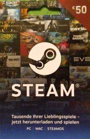Steam 50EUR Guthabenkarte