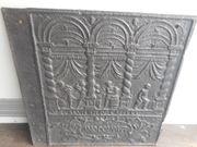 Antike Kaminplatte - Gusseisen - Anodomini 1709