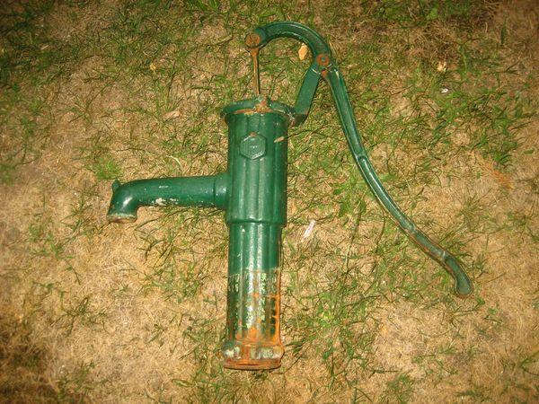 Handpumpe Schwengelpumpe Wasserpumpe Nur Der Pumpenkopf Für
