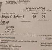 5 Tickets Masters of Dirt