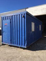 Baucontainer Bürocontainer Container Baustellencontainer Baubude