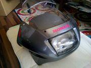 Lampenmaske Front Verkleidung Honda XL
