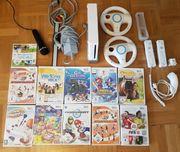 Wii mit viel Zubehör