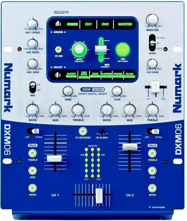 24 Bit Digitaler 2-Kanal DJ
