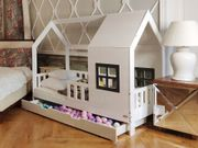 Hausbett Ater mit zweite Bett