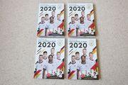Verkaufe 4 DFB-Sammelalben 2020 komplett