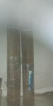 3 Sichtschutzmatten aus Weidenholz 0