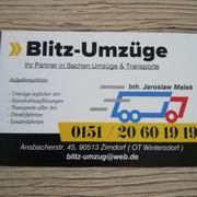 Blitz-Umzüge Transporte mit Festpreis Garantie