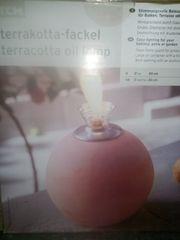 Terrakotta Fackel