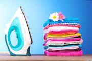Bügel und waschen