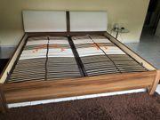 Neuwertiges Doppelbett Fa Musterring komplett