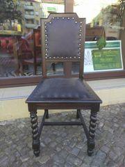 2 Gründerzeit-Stühle antike Möbel handwerklich
