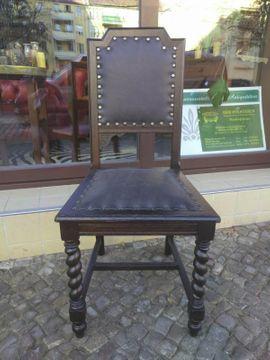 2 Gründerzeit-Stühle, antike Möbel, handwerklich restauriert