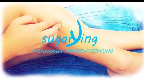 Professionelles Waxing Sugaring
