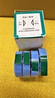 Prägebänder Dymo 12 7 mm