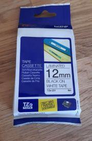 Tape casette Schriftbandcasette Neu Brother