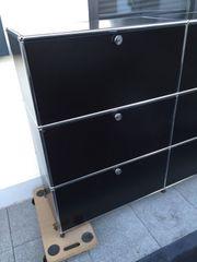 USM haller sideboard Schwarz klappen