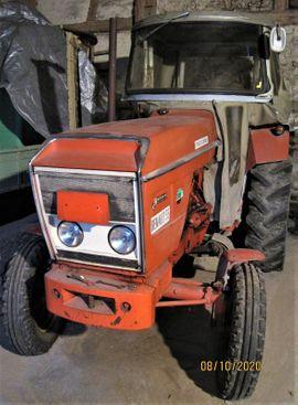 Traktoren, Landwirtschaftliche Fahrzeuge - Traktor Oldtimer Renault 55