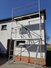 Mieten 120m² Alu Gerüst Fassadengerüst