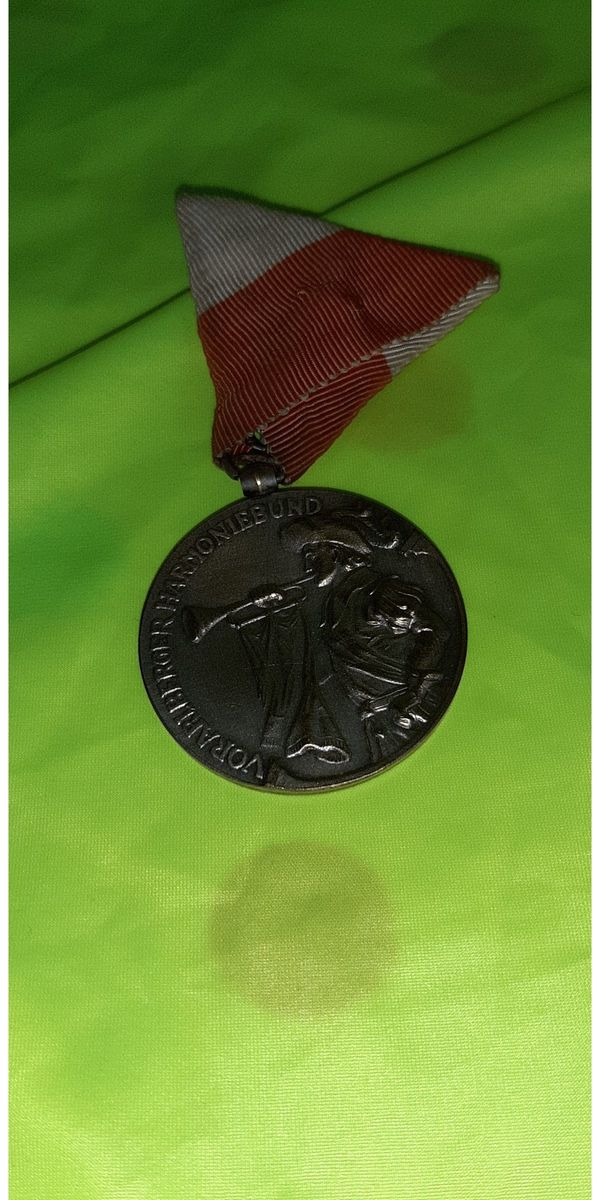 Medaille 75 Jahre Vorarlberger Harmoniebund