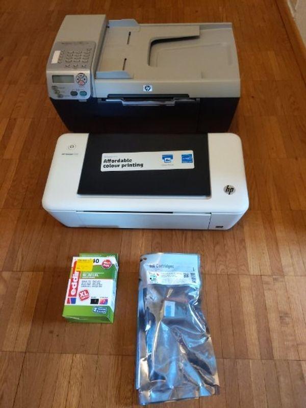2 HP Drucker